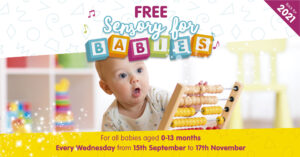 Royals Sensory For Babies 2021 Free event