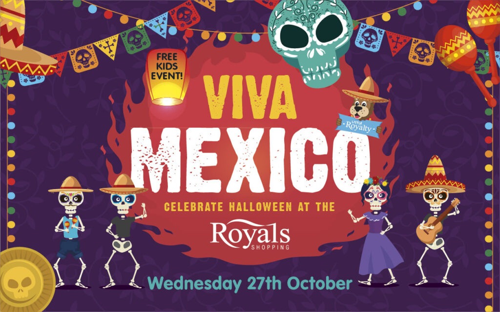 Via Mexico! FREE kids Halloween event at The Royals