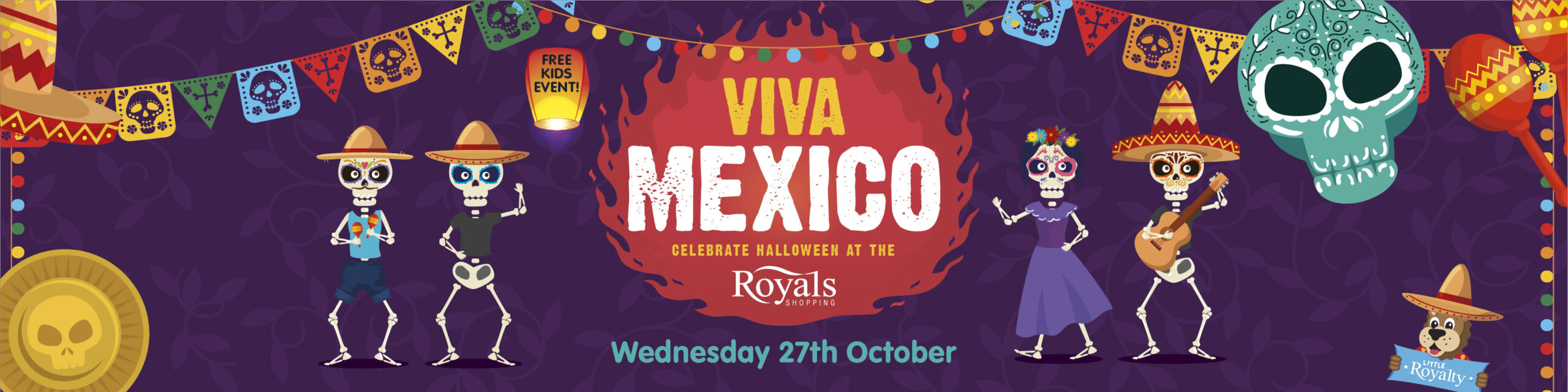 FREE kids Halloween event at The Royals